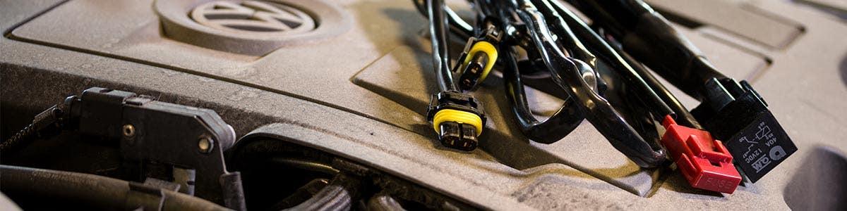 Kablar och strömbrytare
