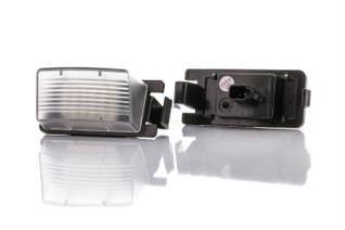 Canlamp LED nummerplåtsljus kit (Nissan T1)